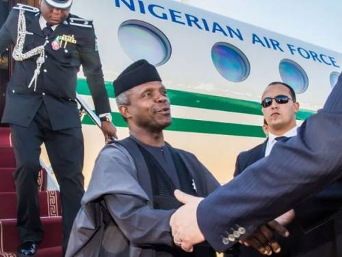 Image result for Osinbajo to meet US VP, Mike Pence, economy to be discussed