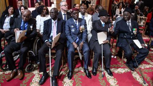France Honours African Fighters In Ceremony To Commemorate WW-II | Sahara Reporters