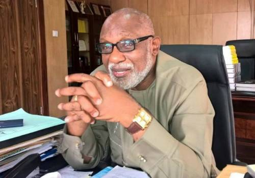Akeredolu Allocates N25m For Office Stationery In Ondo 2019 Budget