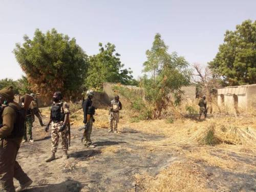 Nigerian Soldier Taunts Boko Haram To 'Come Out And Fight'