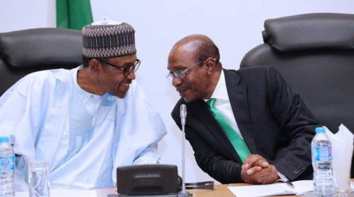President Buhari Holds Closed Door Meeting With Emefiele In Connection To Audio Showing He Stole N500bn