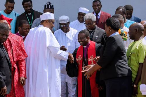 Buhari Regime To Christian Association Leaders: Speak 'Off Camera', Duty Is To Provide Spiritual Guidance