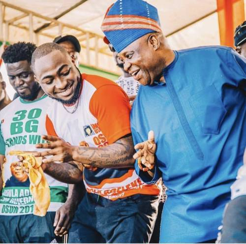 'The Dawn Of Light' — Davido Congratulates His Uncle Adeleke On Osun Gov Tribunal Victory