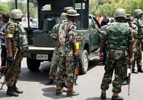 Nigerian Terrorists Plant Explosives In Potholes, Troops Foil Attack | Sahara Reporters