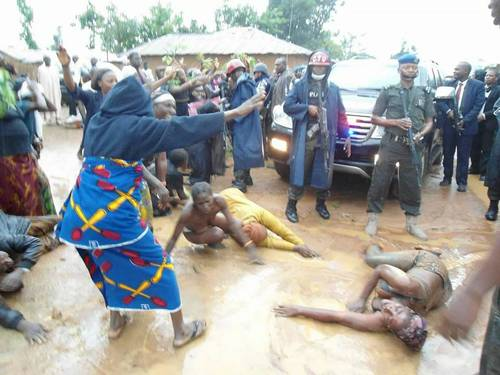 Months After Murders, Kaduna Governor Visits Killing Field -6860