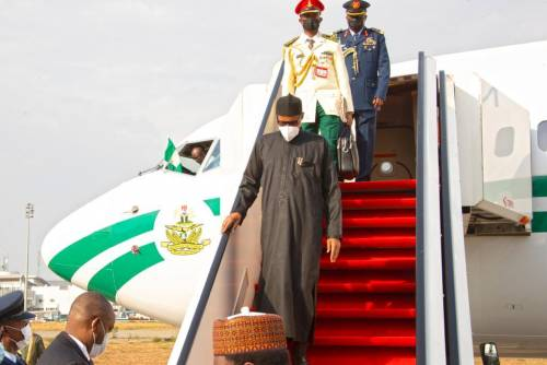 JUST IN: Buhari Returns To Nigeria After Two Weeks Medical Checkup In London | Sahara Reporters
