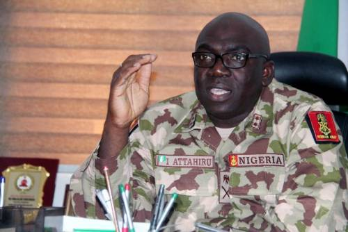 Ask Former Service Chiefs How $1billion Arms Fund Was Spent, Not Me—Army Chief | Sahara Reporters