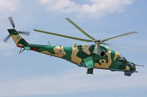 Blade of Nigeria Air Force Helicopter Accidentally Chops Off The Head Of Aircraftman