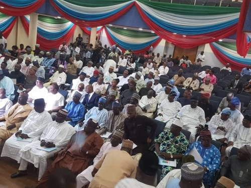Image result for APC chairman meets new House of Reps members