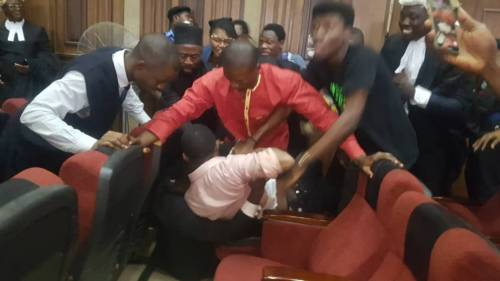 DSS attempts to rearrest Sowore in court (VIDEO)