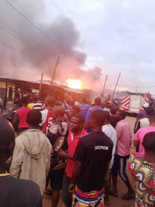 BREAKING: Another Fire Explosion Rocks Lagos | Sahara Reporters