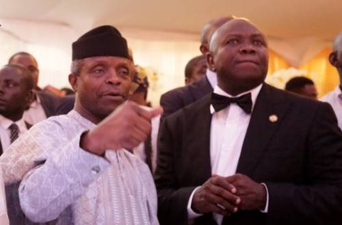 Image result for Nothing to justify plans to deny Ambode second term – Osinbajo