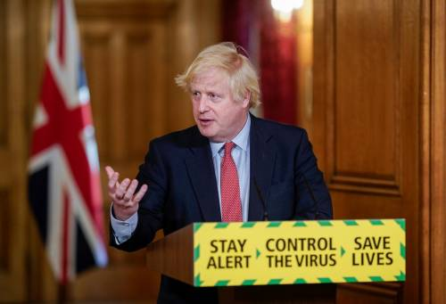 COVID-19: UK To Reopen Street Shops, Shopping Stores June - Johnson