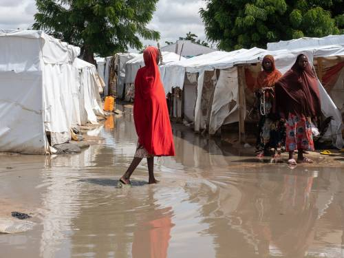 Rain Destroys Shelters For Displaced Nigerians   Sahara Reporters
