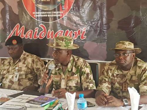 Finish Off Boko Haram, Army Commander Charges Soldiers | Sahara Reporters