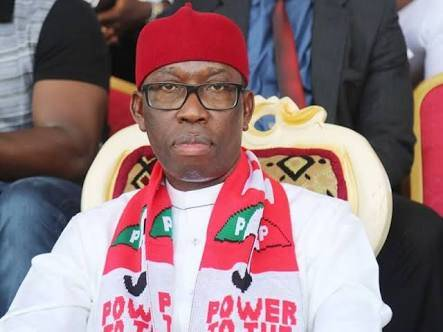 Treat Anyone That Comes Close To Delta COVID-19 Palliatives WareHouse As Criminal, Governor Okowa Tells Security Agents | Sahara Reporters