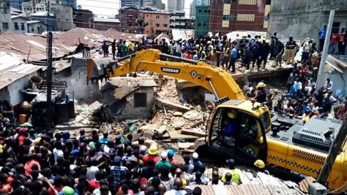 Nigeria's Building Collapse Kills Mother, 3 Children In Magodo, Father Survives   Sahara Reporters