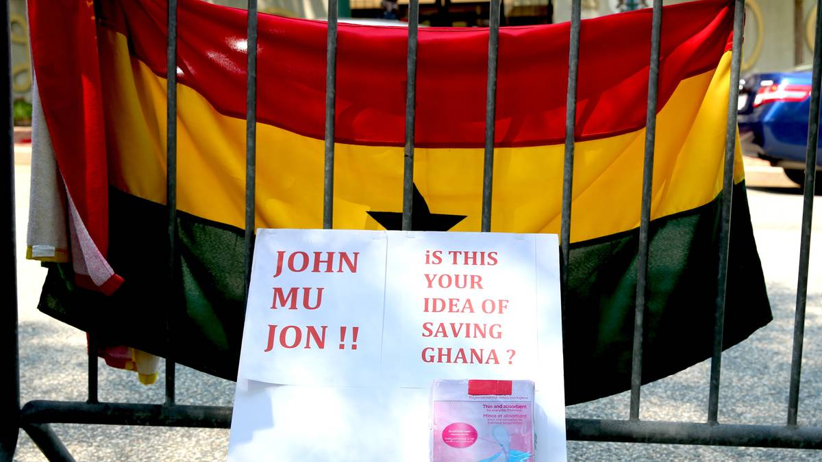 #OccupyGhanaProtest in Washington DC