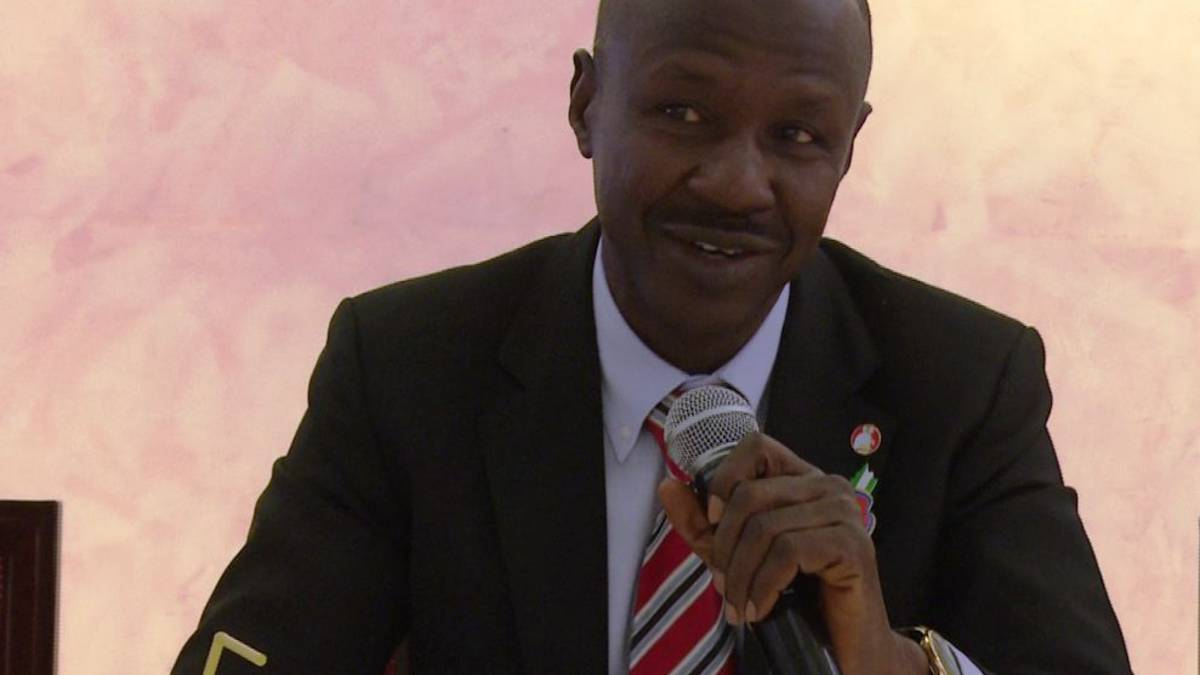 Ibrahim Magu Speaking At The Meeting With Media Professionals