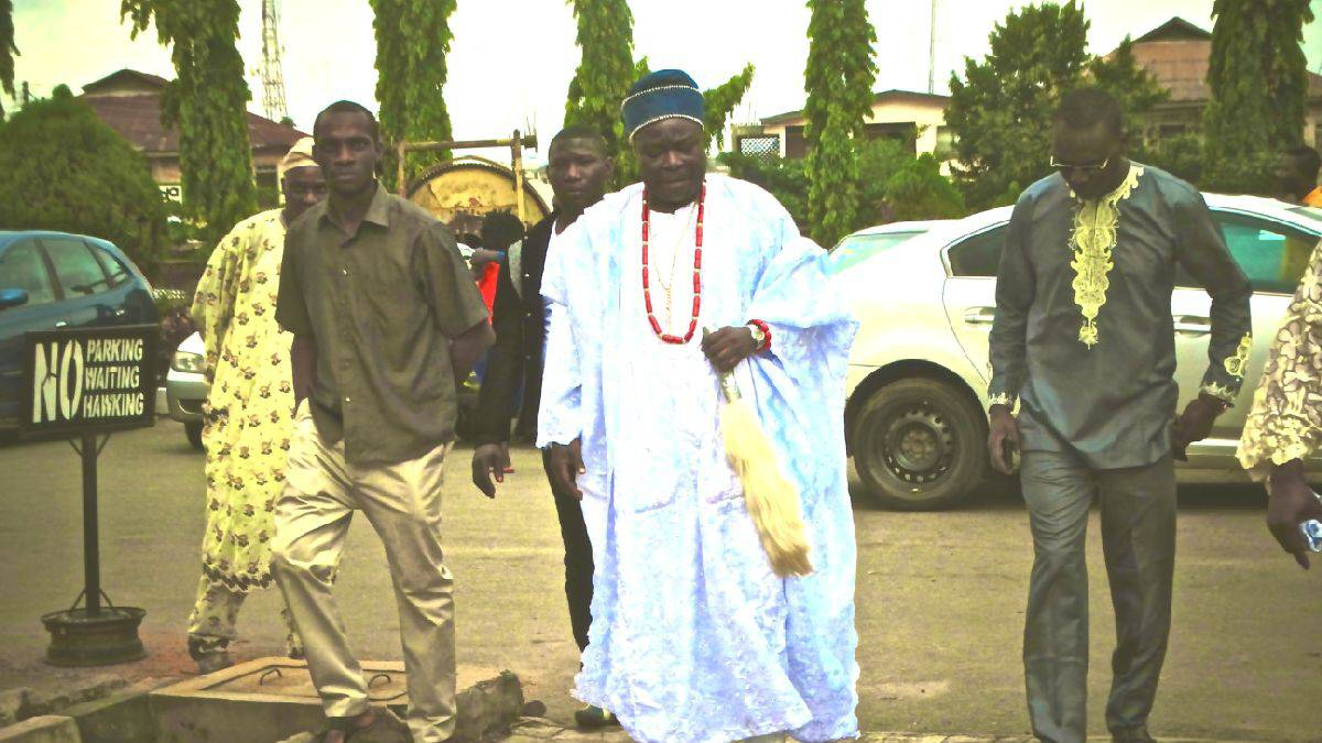 Deposed Deji of Akure, Prince Adesina Adepoju