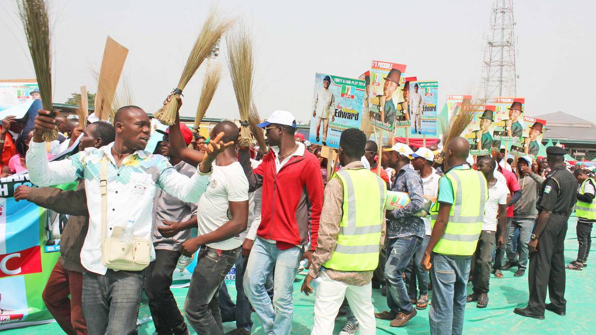APC supporters in Bayelsa
