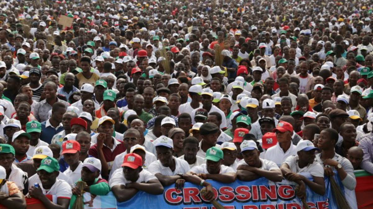 Throngs of APC supporters in Bayelsa