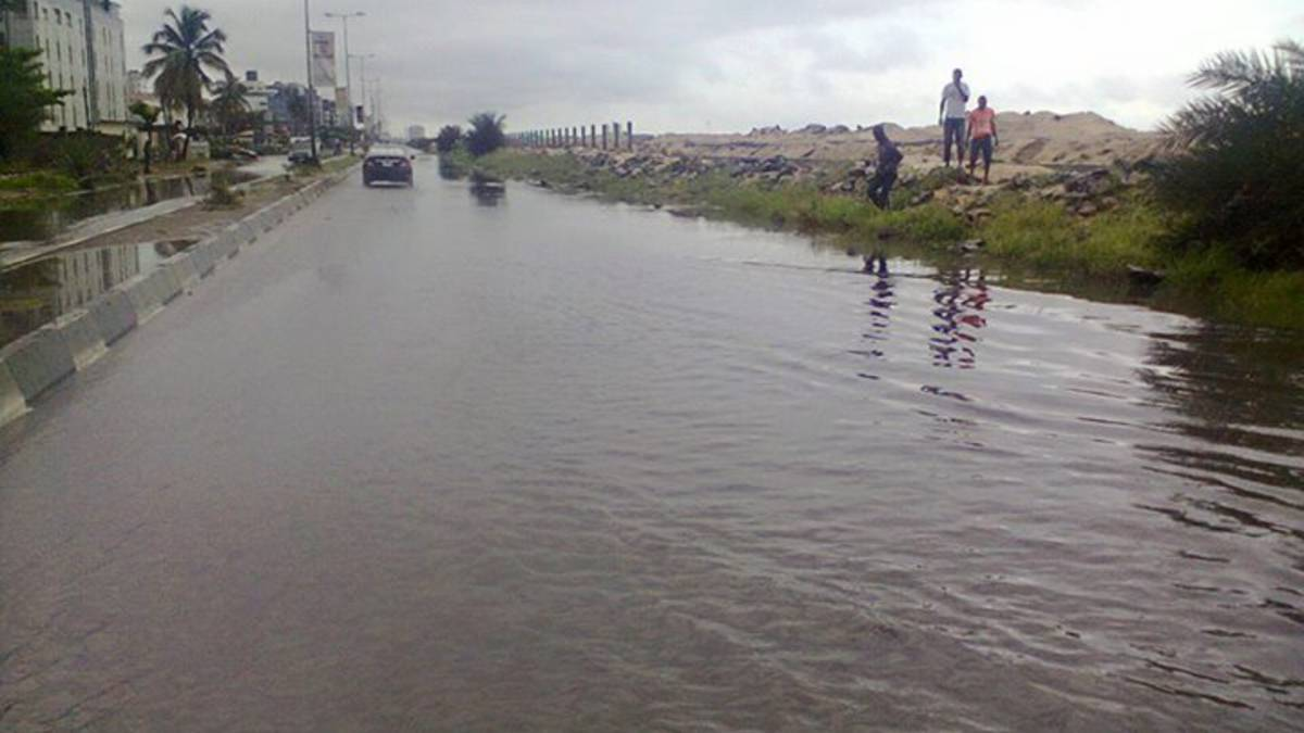 Lagos Road Flood