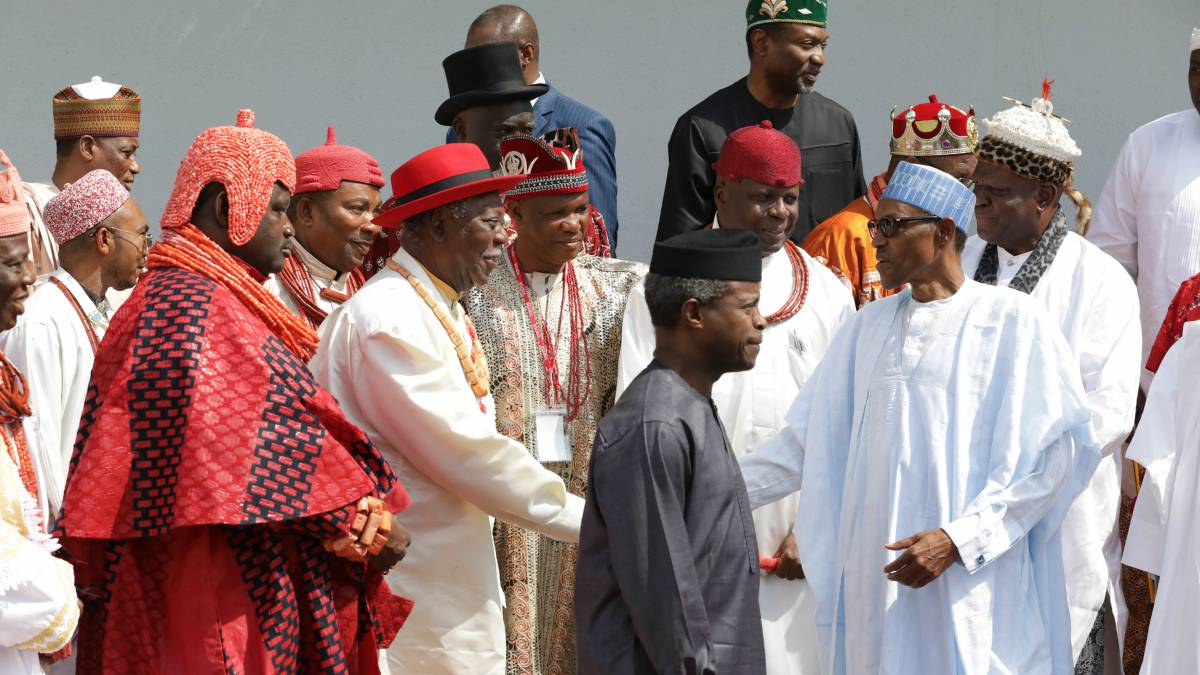 Image result for President Buhari Meets With Niger Delta Stakeholders