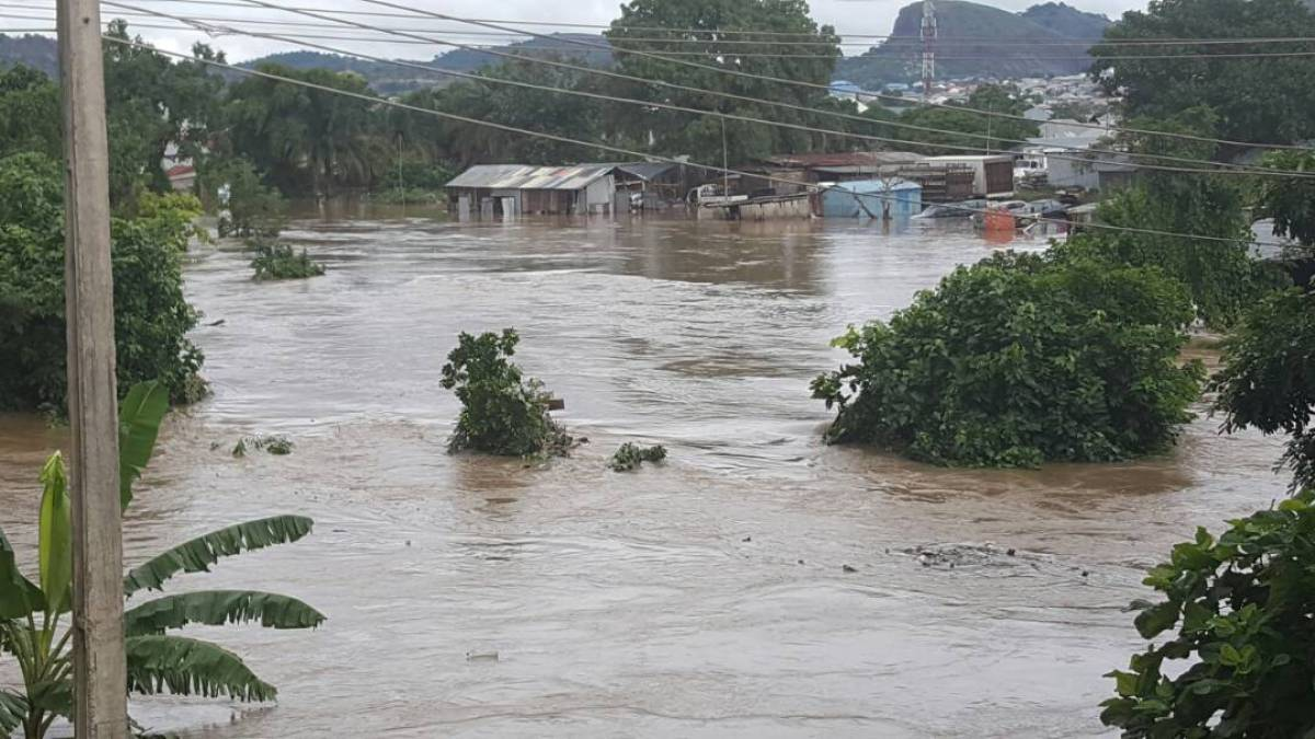 Severe flooding in Suleja