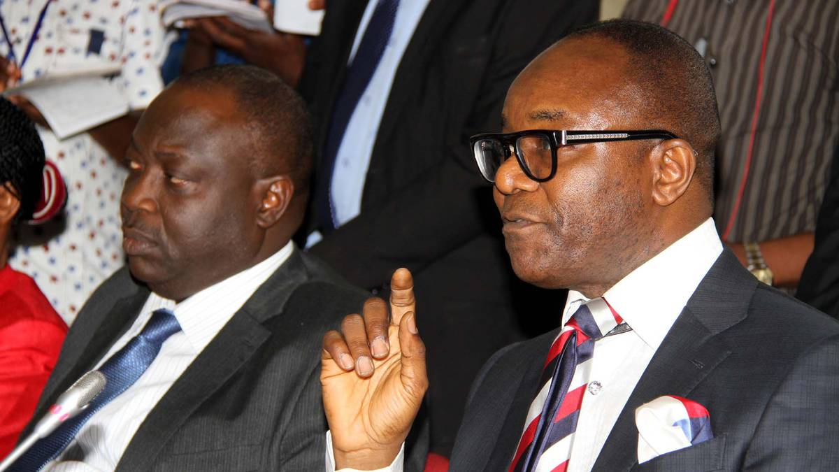 Minister of State for Petroleum Resources, Emmanuel Ibe Kachikwu