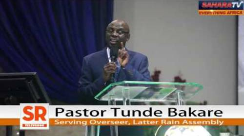 Why We Have Different Attitudes to The Fuel Price Hike of 2012, And Now (2016) - Pastor Tunde Bakare