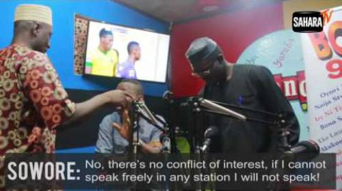 You Can't Speak Against The Federal Govt Here- GM Of BondFM To Sowore