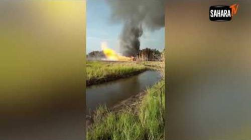 'Crops Destroyed, Ground Vibrating' — Chevron's Oil Field In Ondo On Fire For More Than Seven Days