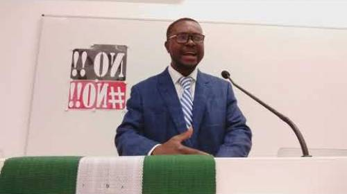 VIDEO: EXPOSED! Watch How Nigerian Senator Plagiarized The Internet Law From Singapore - Odorige.