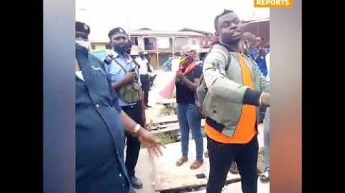 Nigeria's Secret Police, DSS, Arrest Peaceful #RevolutionNow Protester In Osun