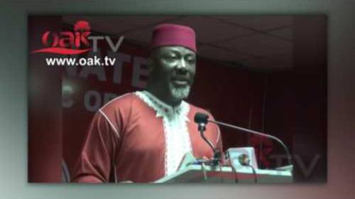 Dino Melaye Publicly Claiming He Graduated From Harvard University And London School of Economics