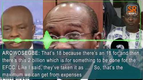 EFCC INDICTED: How Emefiele, Top CBN Officials Set Aside N2bn As 'Something To Be Done For The EFCC'