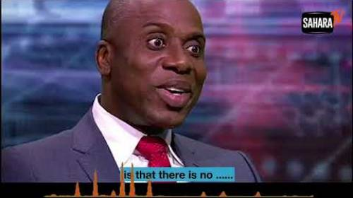 AUDIO: Amaechi Describes Nigerians As 'Cowards'