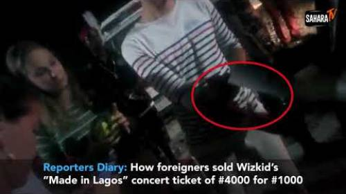 Reporters Diary: Scalpers Purchase Wizkid Concert Resale Tickets Below Face Value