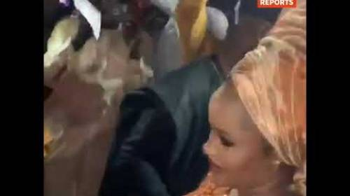 Money Rain At Wedding Of The Son Of Nigeria's AGF, Malami